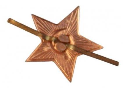 Odznak hvězda malá 22mm ruská