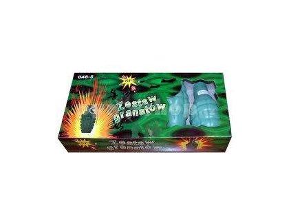 Granát dýmový balení 5ks (airsoft,paintball)