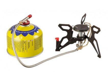 Outdoorový camping vařič (hořák) SPIDER PRO PIEZO Meva na plynové kartuše KP17001