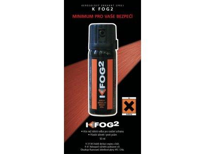 Plyn obranný (pepřový sprej) Fog2 50ml mlha