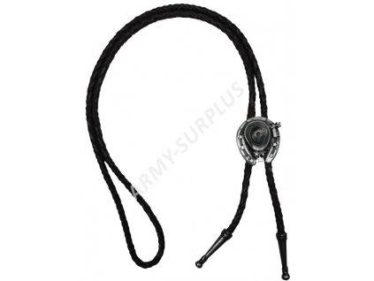 bolo-western-kravata-stribrny-klobouk--podkova-f927