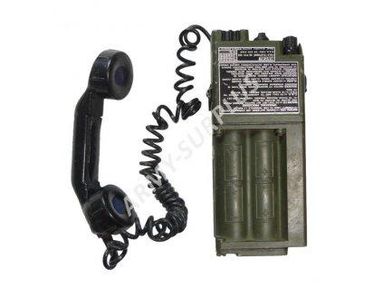 Polní telefon Velká Británie Racal typ PTC 404