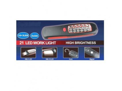 Baterka 21LED + magnet