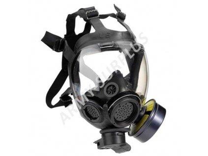 Plynová maska US MSA Millennium černá