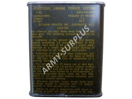 Práškový insekticid - pro sběratele