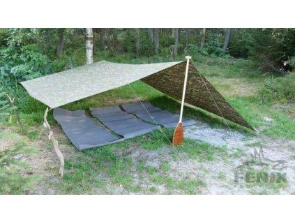 Plachta Basha multifunkční 2x2,8m, SK digital pouštní ALP