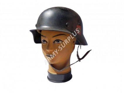Helma SS (přilba) Německo M35 Stahlhelm Wehrmacht ET68