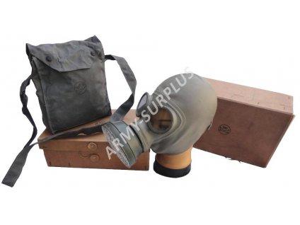 Plynová maska Finsko M1939 PARA Folkgasmask