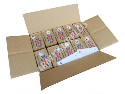 Krabice bojová dávka potravy Velká Británie UK 24 Hour Ration Pack (MRE) originál