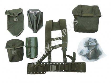 Nosný systém BW (Bundeswehr) oliv 8-dílný originál