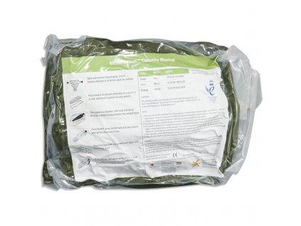 Blizzard Heat Blanket záchranná plachta izofolie termofolie s aktivním ohříváním