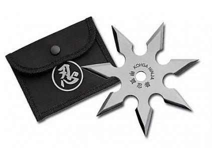 Hvězdice ninja shuriken černá 7 hrotů