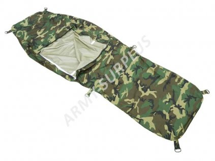 Povlak na spací pytel Bivvi Bag Itálie Esercito (spacák, žďárák, bivak, bivy cover) woodland originál XL