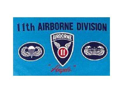 vlajka-90x150cm-11th-airborne-c-193