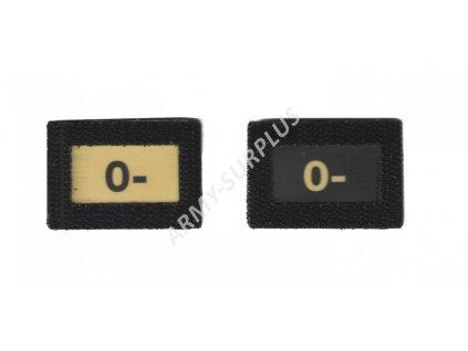 0- Glind tape - označení krevní skupiny  ALP FENIX AC-139 velcro suchý zip