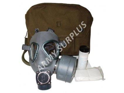 Plynová maska Finsko M-61 kompletní s brašnou