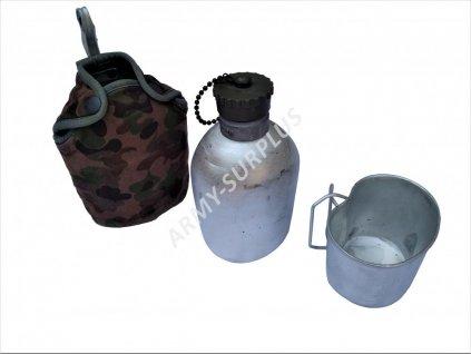 Polní láhev s pitítkem Rakousko K4  (hliníková čutora) originál