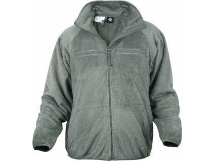 Mikina (bunda) US ABU Jacket fleece foliage ECWCS Polartec nehořlavá originál
