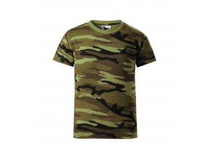 Triko dětské (tričko) Military Adler model 95 s krátkým rukávem