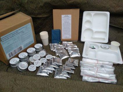 Bojová dávka potravy PS-8/k skupinová (MRE,BDP,ARPOL) Polsko Group food ration Supper kit PS-8/k pro 10 osob originál