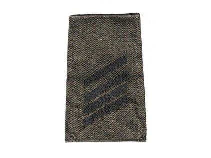 Hodnost nárameník BW Bundeswehr Německo Stabsgefreiter (desátník)