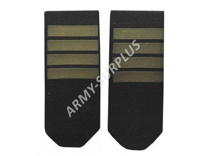 Hodnost nárameníky WP Polsko Navy Bosmanmat 1pár