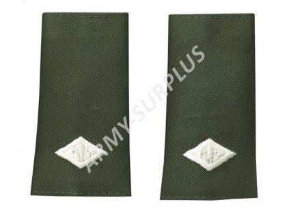 Hodnost nárameníky US Cadet Major oliv 1pár