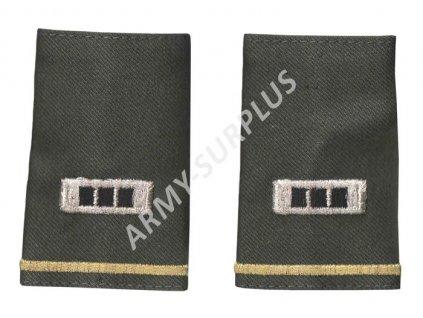 Hodnost nárameníky US Chief warrant officer (praporčík) 1 pár