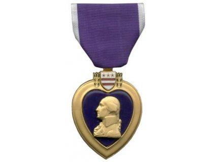 Odznak US purpurové srdce originál