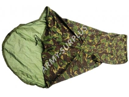 Povlak na spací pytel (spacák, žďárák, bivak) britský Velká Británie GORE-TEX DPM bivy cover originál II.jakost
