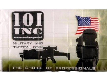 Vlajka 90x150cm 101 INC. Militair č.195