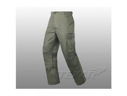 Kalhoty BDU oliv Texar ripstop