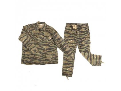 komplet-us-tiger-stripe-vietnam-ripstop--kalhoty-bluza--fostex-repro