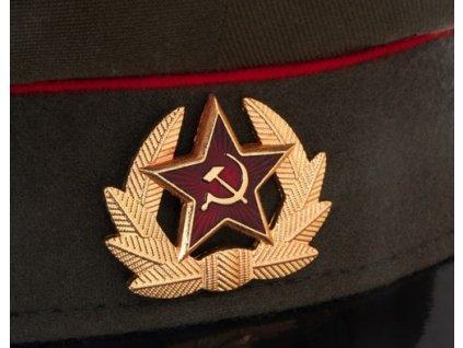 Brigadýrka zelená Rusko červený lem originál