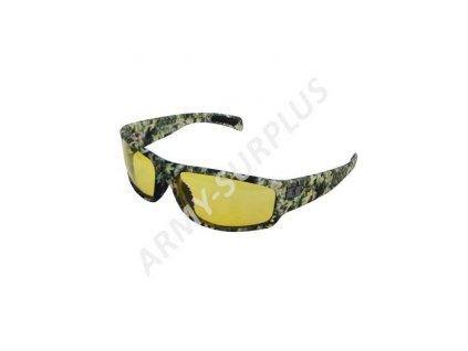 Brýle operátor sluneční realtree žluté skla