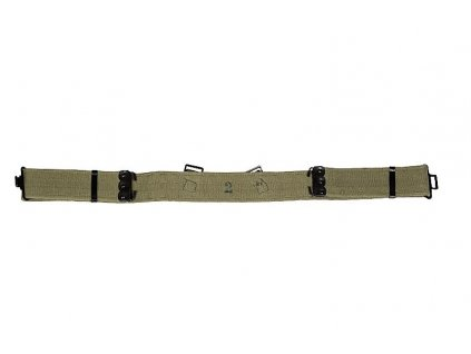 Opasek britský M37 Velká Británie kovová spona