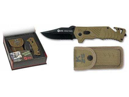 Nůž zavírací RUI TACTICA K25 Coyote záchranářský 19376