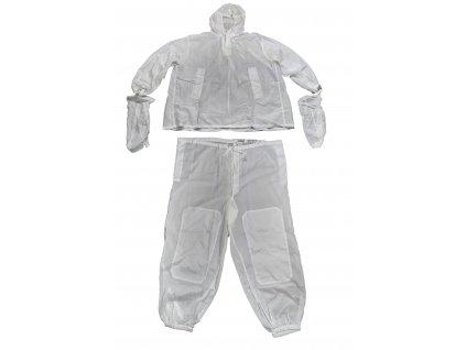 Převlečník maskovací zimní 2001 komplet Ačr originál sněžný bílý