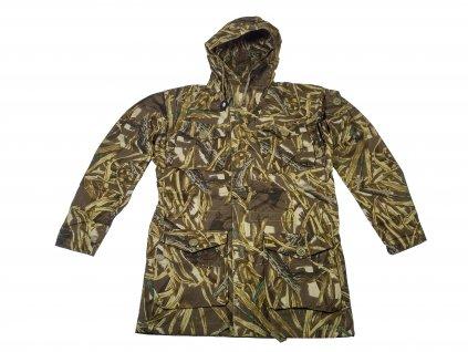 Bunda lovecká,parka Smock Combat Hunter Windproof s kapucí (rákosí)