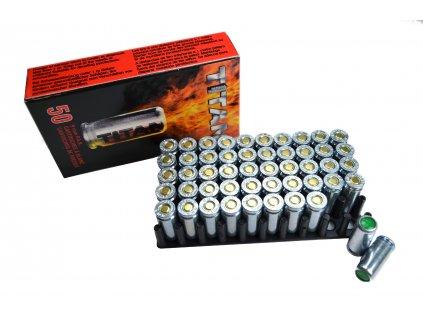 Startovací (hlukové) náboje Perfecta Titan 9mm pro pistole 50ks Umarex