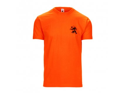Tričko orange 150g s potiskem Lev FOSTEX