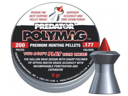 Diabolky JSB Predator PolyMag 200 cal. 4,5 mm (.177)