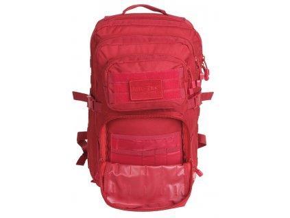 Batoh ASSAULT Pack US 36L molle LG velký červený Miltec