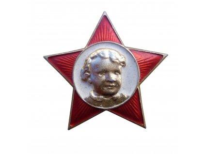 Odznak hvězda (pionýr) CCCP Sovětský svaz originál Октябрёнок