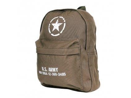 Batoh jednodenní US ARMY Fostex 22L khaki