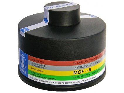 Filtr MOF-6 kombinovaný Sigma na plynovou masku 40x1,7