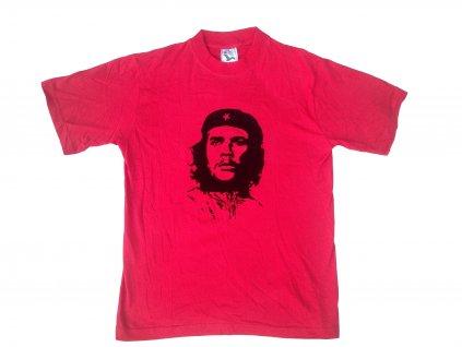 Tričko (triko) červené potisk Che Guevara