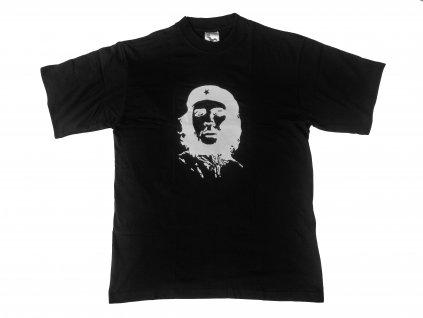 Tričko (triko) černé potisk Che Guevara