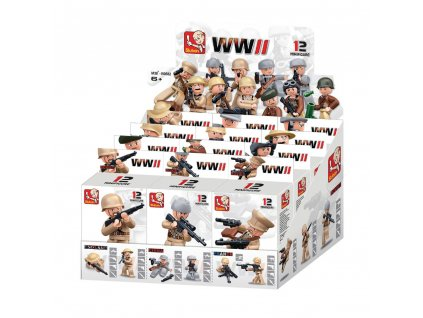 Lego Sluban - voják válečník WWII