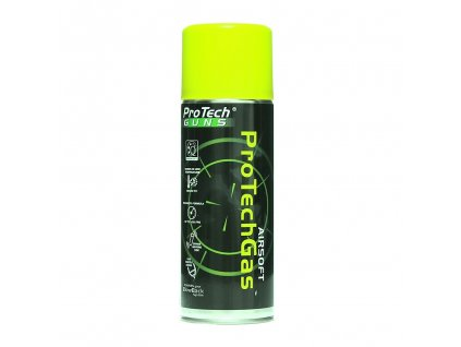 Plyn pro AIRSOFT 400 ml  Pro tech Green Gas